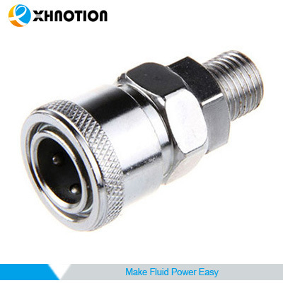 Chrome-Plated Stainless Steel Male Socket Quick Coupler