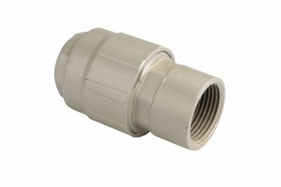 Female Straight Aluminium Connect Metal Tube Fitting