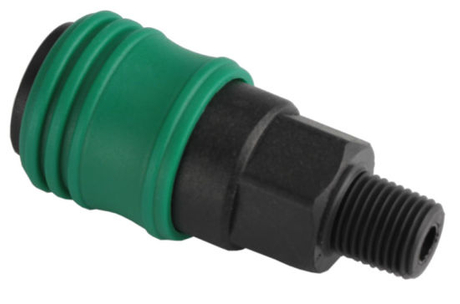 1/4′′ Nitto Plastic Quick Coupling Male Socket