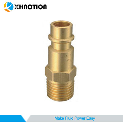 Xhnotion Germany Series Metal Quick Coupling Brass Male Plug