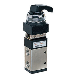 Twist Lever Type Pneumatic Valve