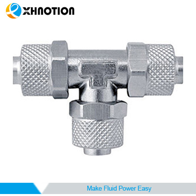 Union Tee Tube Rapid Screw Fitting
