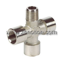 Brass Connector for Pneumatic Fittings
