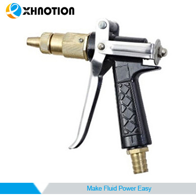 Xhnotion Heavy Duty Brass Sprayer Wash Guncold Air Blow Gun with Tip Hose Nozzle