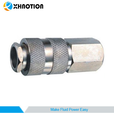 Zinc-Plated Steel Female Socket Quick Connector Coupling