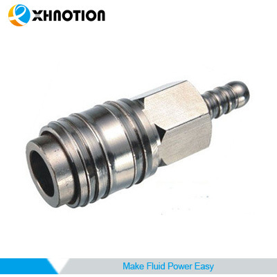 Europe Universal 6.35 8 10mm Barb Socket Quick Coupling