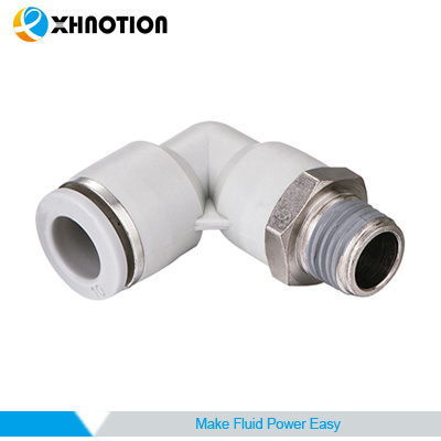 Xhnotion 90 Degree Elbow Male Push in Fitting with 150 Psi