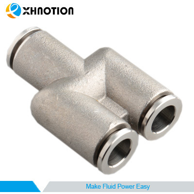 Metal Fitting Y Shape Union Y Two Ways with High Temperature