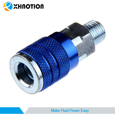 USA Series Quick Coupler Male Socket Aluminum Oxidation