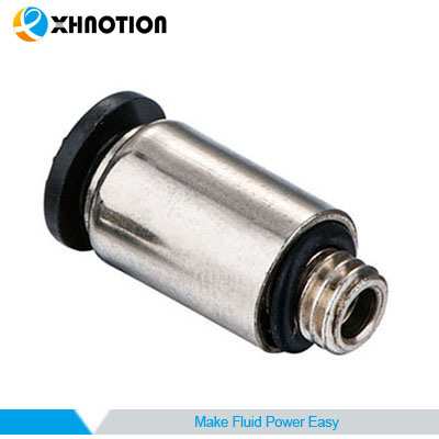 Male Round Straight Mini Quick Connector