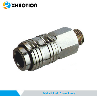 EU1 Series-Male Socket Brass Quick Coupler for Air Tools