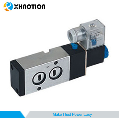 "2 Ways 5 Positions Single Head Solenoid Valve with 1/8"" Joint Pipe"