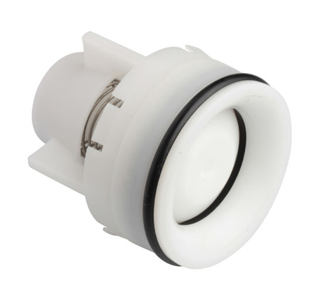 Plastic Non Return Half Round Shower Check Valve Ov15